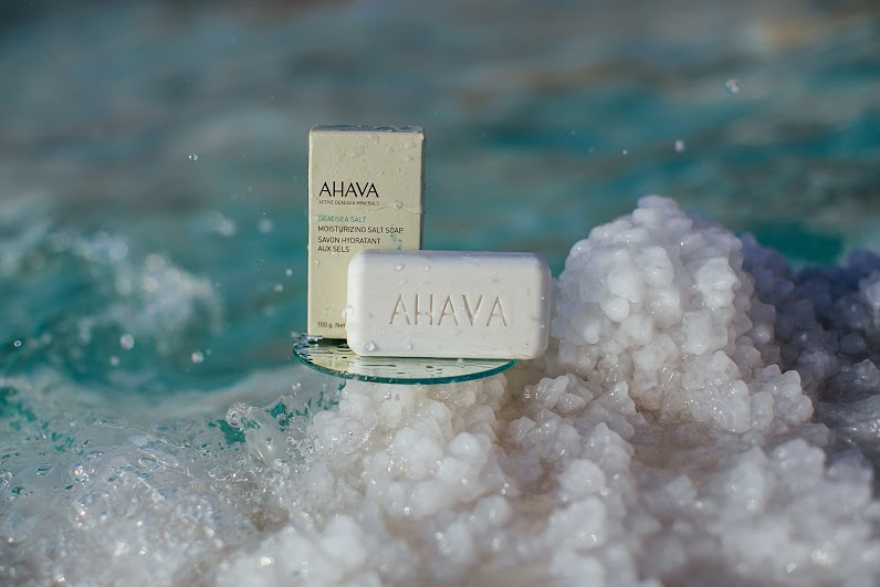 Dead Sea Salt Soap and Scrub