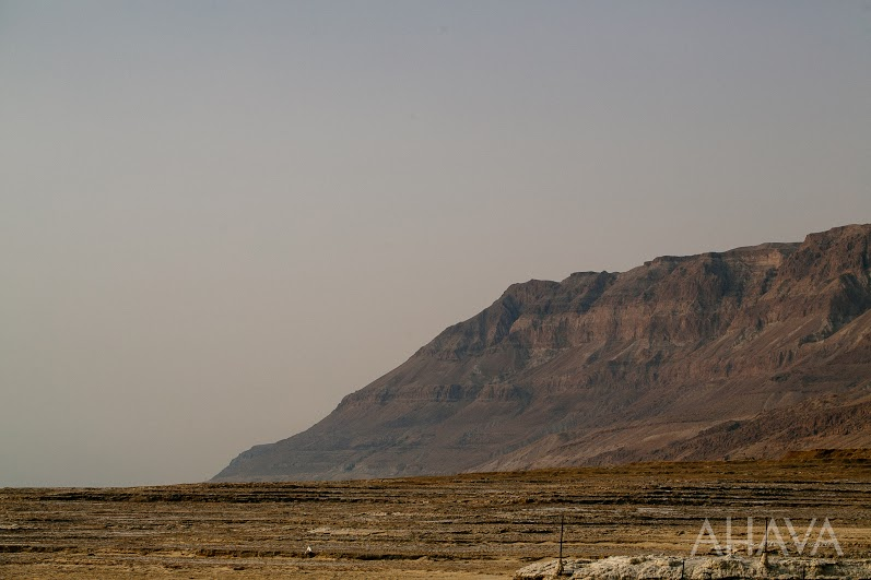 Dead Sea Mountain Range and Dry Climate