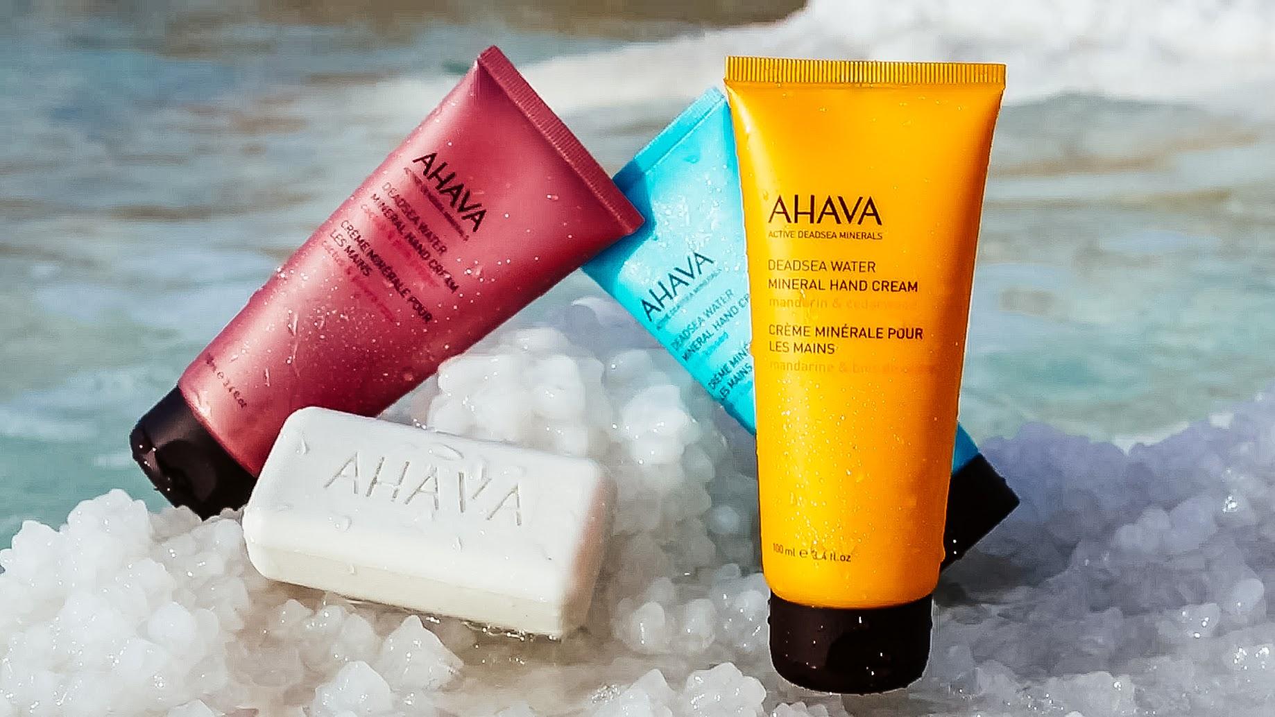 Dead Sea Ahava Hand Cream Minerals