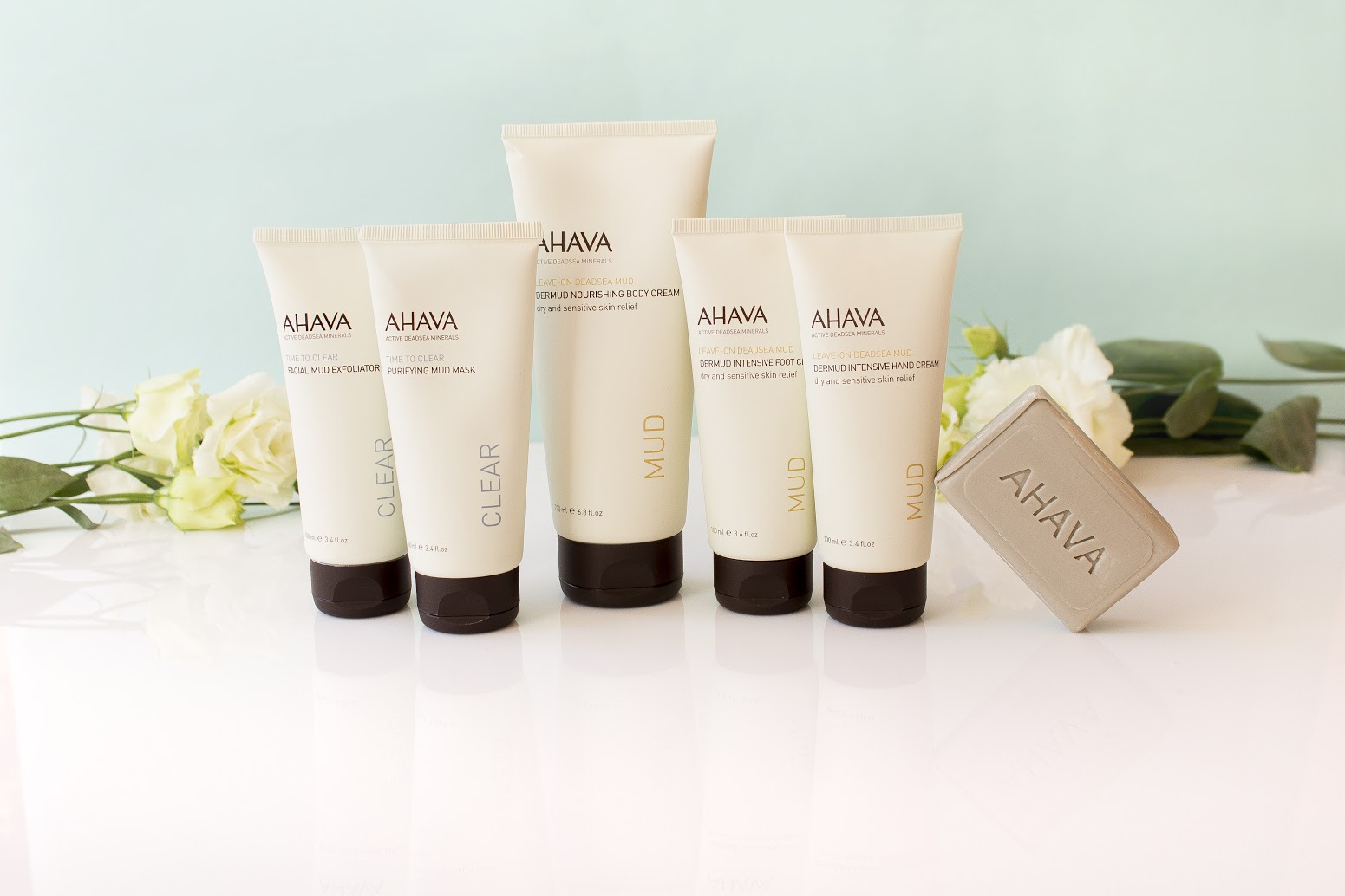 Dreamud line Ahava Dead Sea Mud
