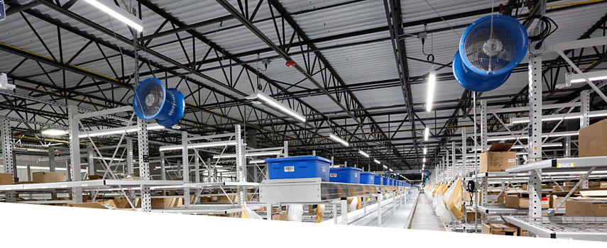 American Eagle Outfitters facility LED lighting