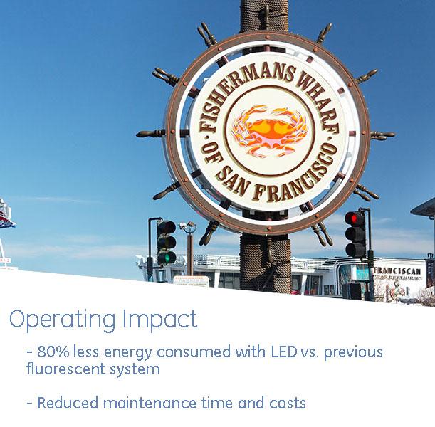 fishermans wharf lighting operating impact