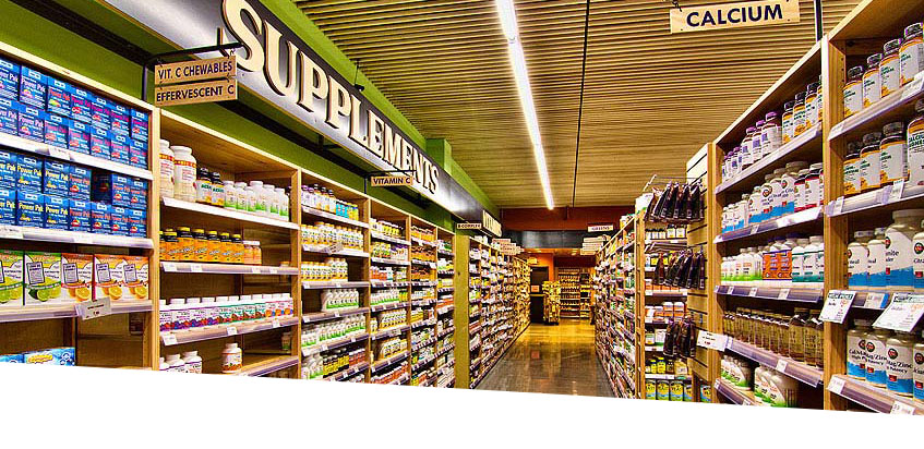 Natural Grocers store aisle