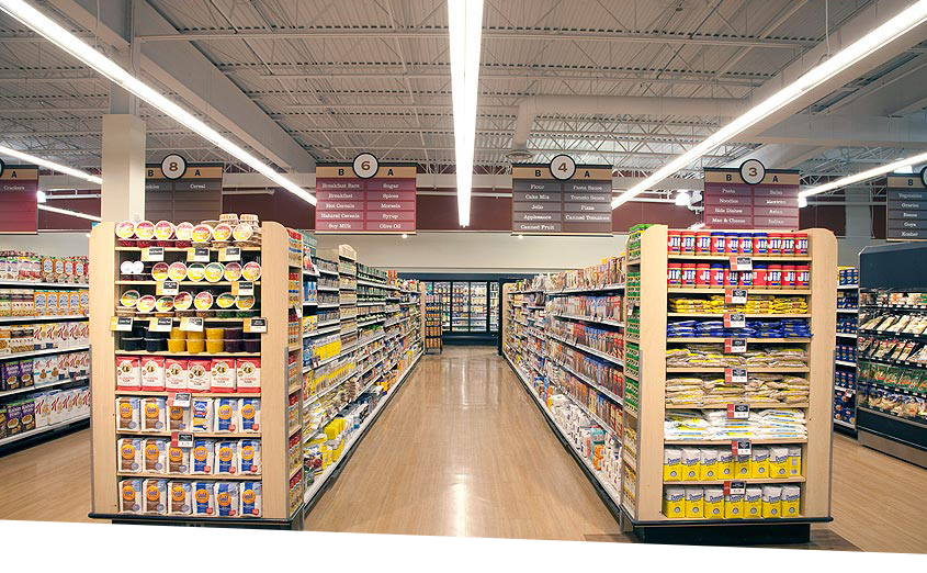 Heinen's Grocery Store with LED Lighting