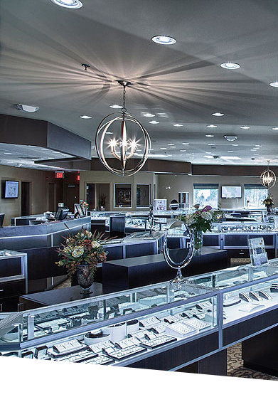 Riddle's Jewlery Store with LED Lighting