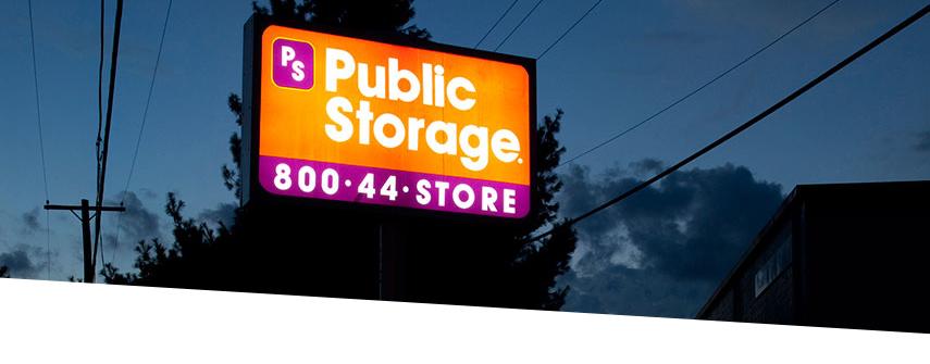 Public Storage LED signage