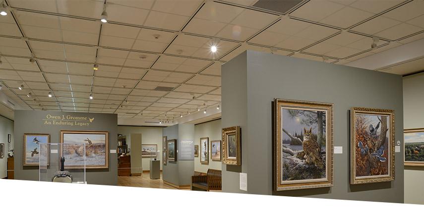 GE LED lighting in Woodson Art Museum