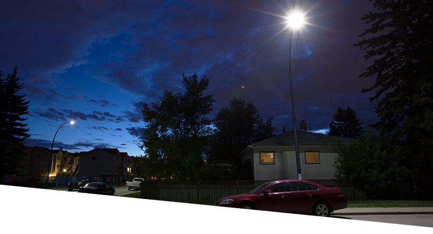 GE LED Roadway Lighting Calgary