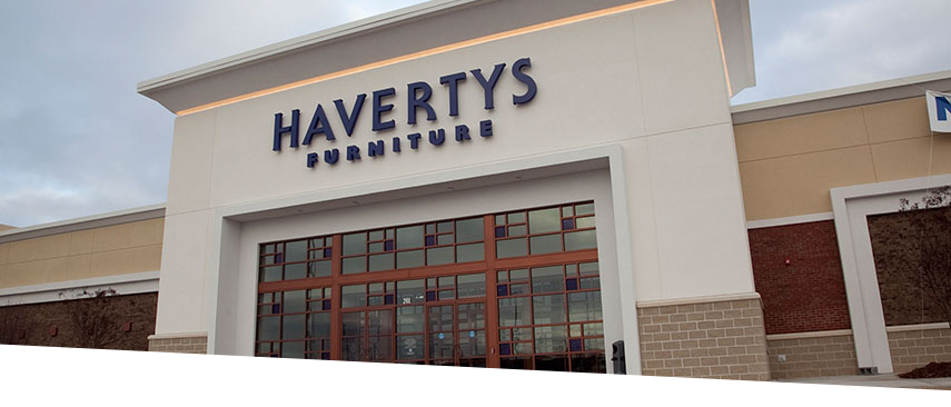 GE Retail Haverty's Furniture Store
