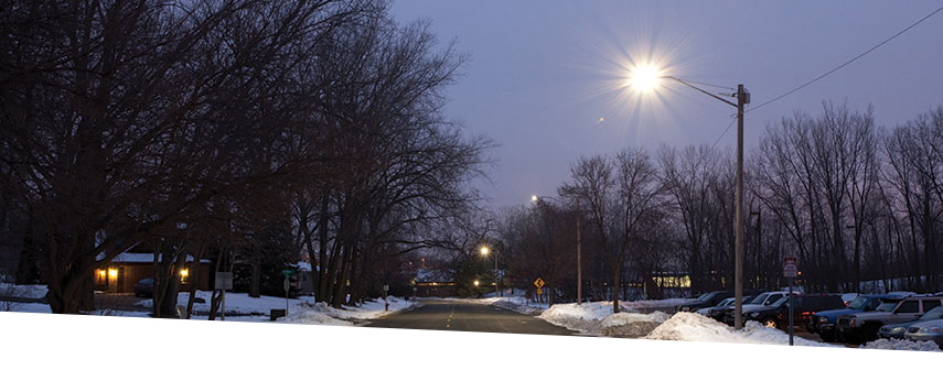 GE LED Street Lighting West St. Paul