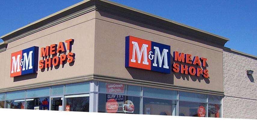 GE LED Retail Lighting M&M Meat Shops