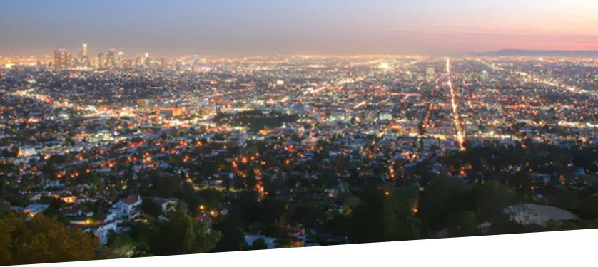 Lit City Skyline