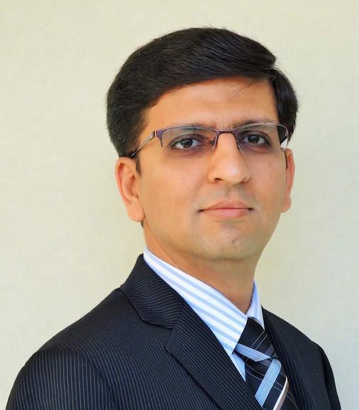 Maulin Patel Headshot
