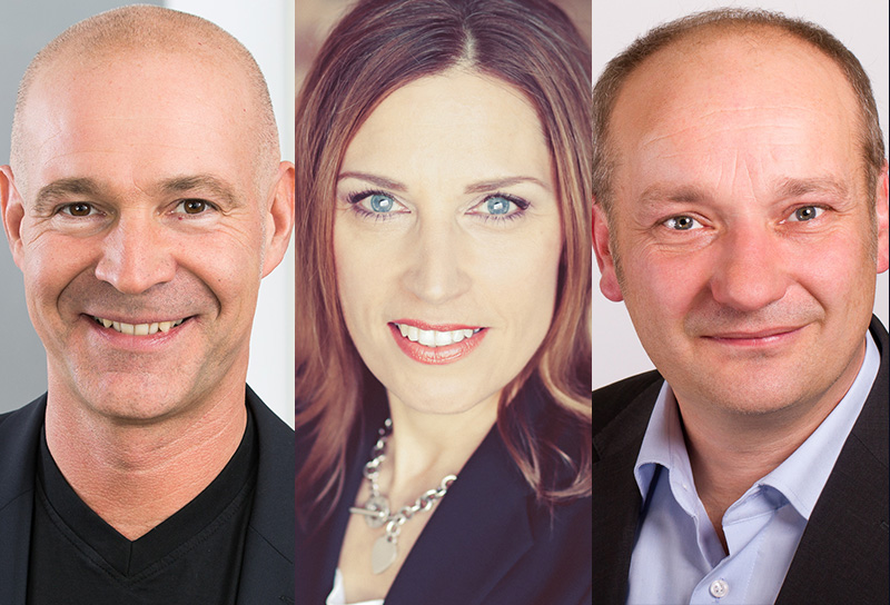 Dr. Stephan Frädrich, Motivationsexperte, Svenja Dederichs, Führungsexpertin,  Dr. Andreas Stiehler, PAC-Analyst