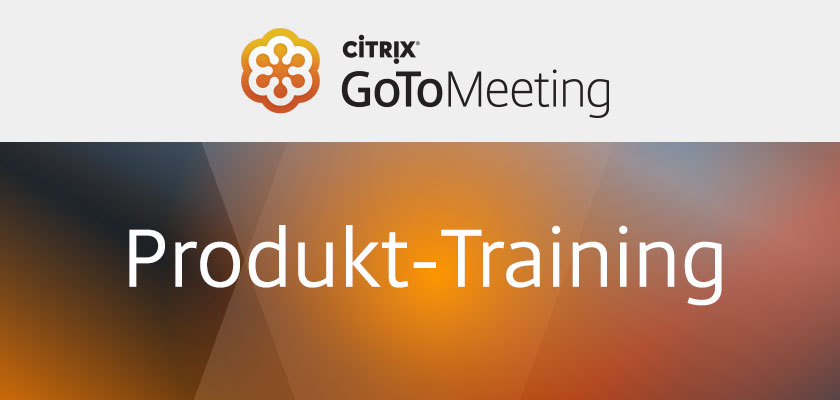 GoToMeeting Produkt-Training