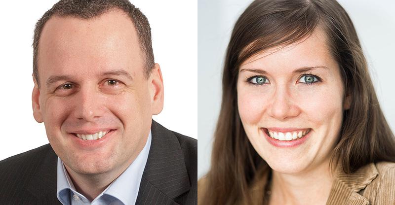 Daniel Holzinger & Julia Lenhard, Webinar-Experten