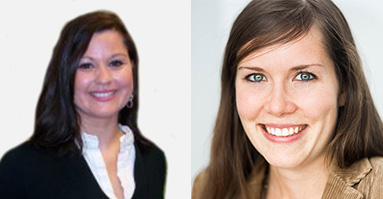 Melanie Gipp, Field Marketing Manager EMEA, Marketo, Julia Lenhard, Sr Marketing Specialist DACH, GoToWebinar