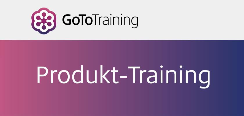 GoToTraining Produkt-Training