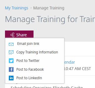 Share Training