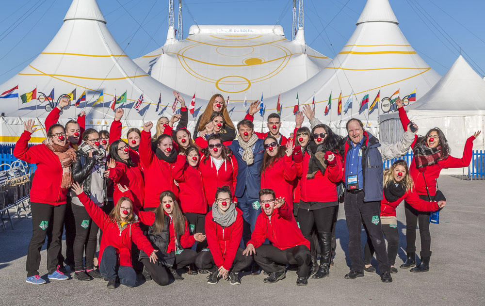 An outing to Cirque du Soleil for your first team building activity!