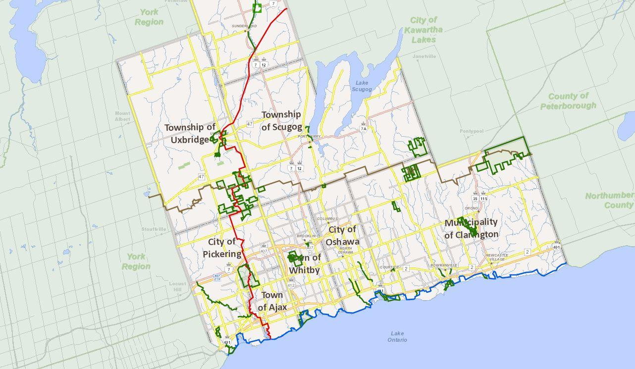 Open Data Durham Region Ontario ArcGIS Online