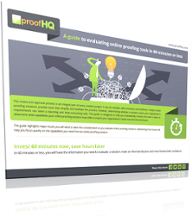Free Guide: Evaluate Online Proofing Tools in an Hour or Less