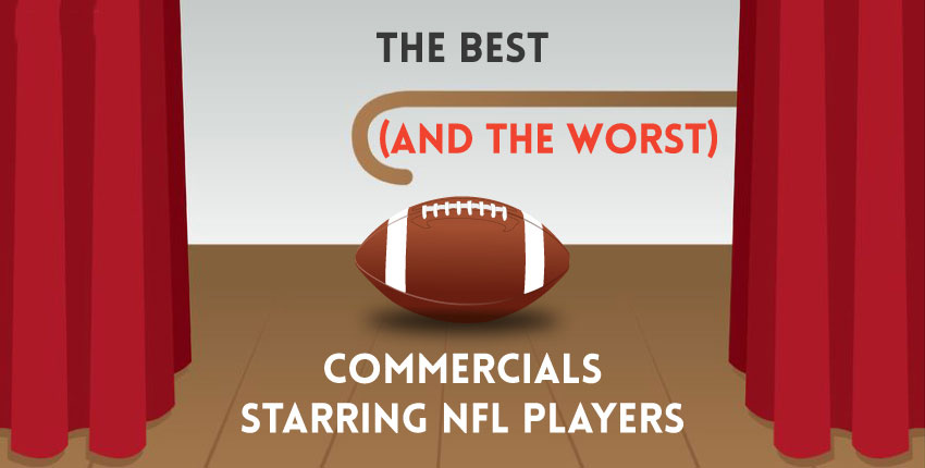 best commercials nfl players