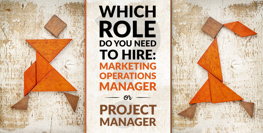 marketing operations manager vs project manager