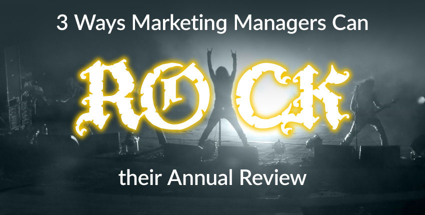 marketing manager annual review