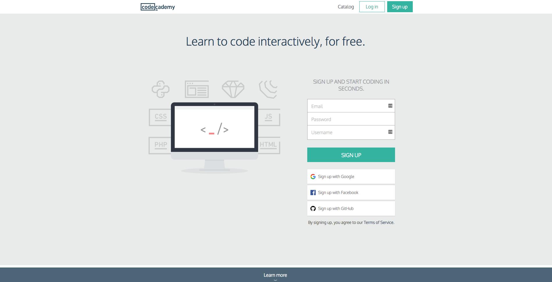 Online graphic design and web development education