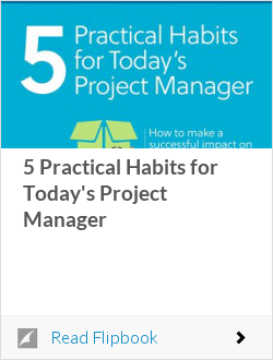 5 Practical Habits for Today's Project Manager