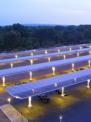 Efficient commercial solar panels