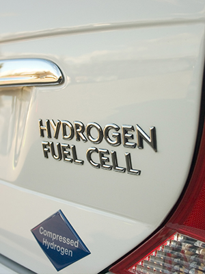 Hydrogen fuel cells demonstrate how hydroelectricity works