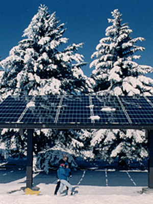 The effects of weather on solar panels are less than one might think