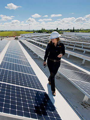 An on-site inspection is often included in commercial solar panel maintenance cost