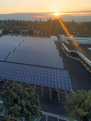 Solar carports are one of the newer developments in the history of solar panel technology