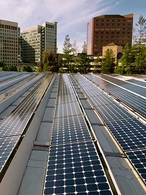 A rooftop commercial solar installation can have positive impact on your triple bottom line