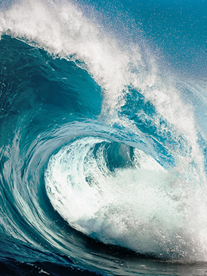 Ocean waves can produce power that might be your best renewable energy option