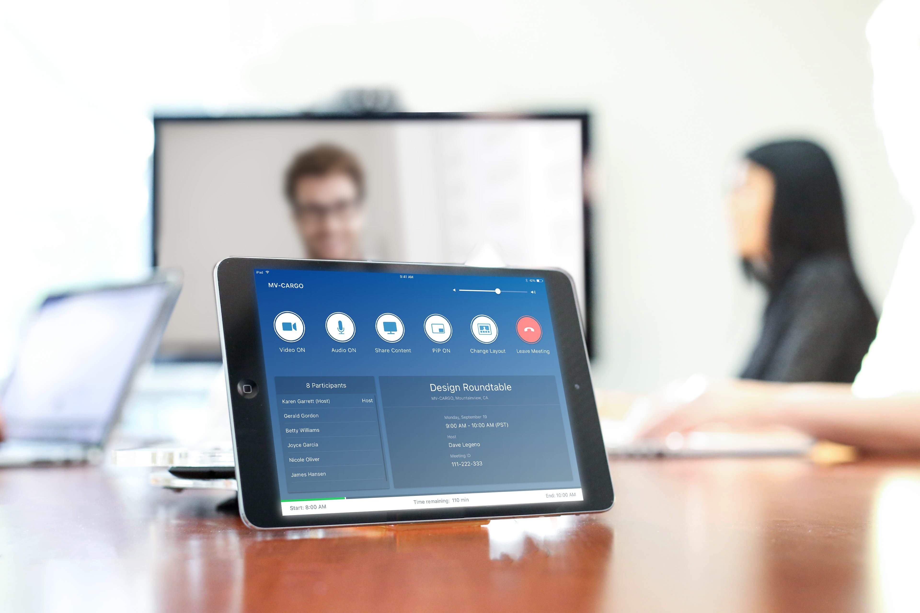 BlueJeans Rooms provides a one-touch video conferencing experience for any meeting room