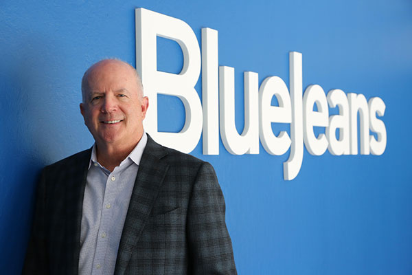 Quentin Gallivan, CEO of BlueJeans