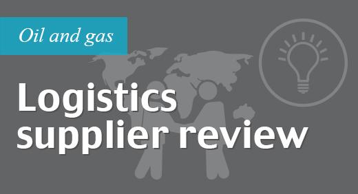Logistics supplier review