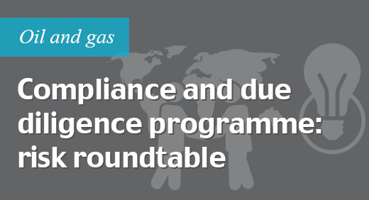 Compliance and due diligence programme