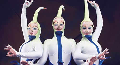Trois raisons d'organiser votre événement d'entreprise au Cirque du Soleil