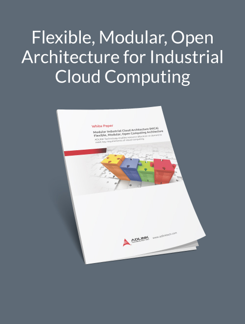 Flexible, Modular, Open Architecture for Industrial Cloud Computing