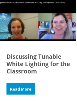 Discussing Tunable White Lighting for the Classroom
