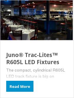 Juno® Trac-Lites™ R605L LED Fixtures