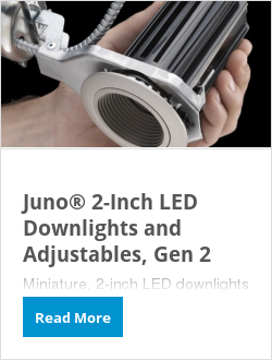 Juno® 2-Inch LED Downlights and Adjustables, Gen 2