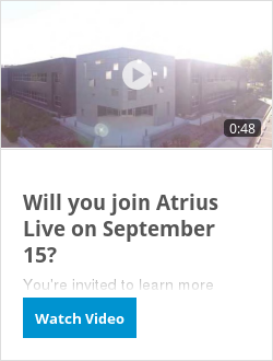 Will you join Atrius Live on September 15?