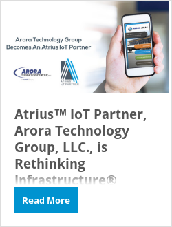 Atrius(tm) Partner, Arora Technology Group, LLC., is Rethinking Infrastructure(r)