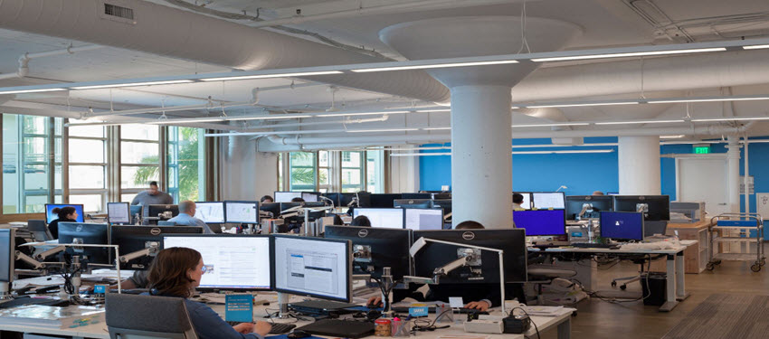 The Right Lighting Design Can Turn Office Space into a Company Showcase